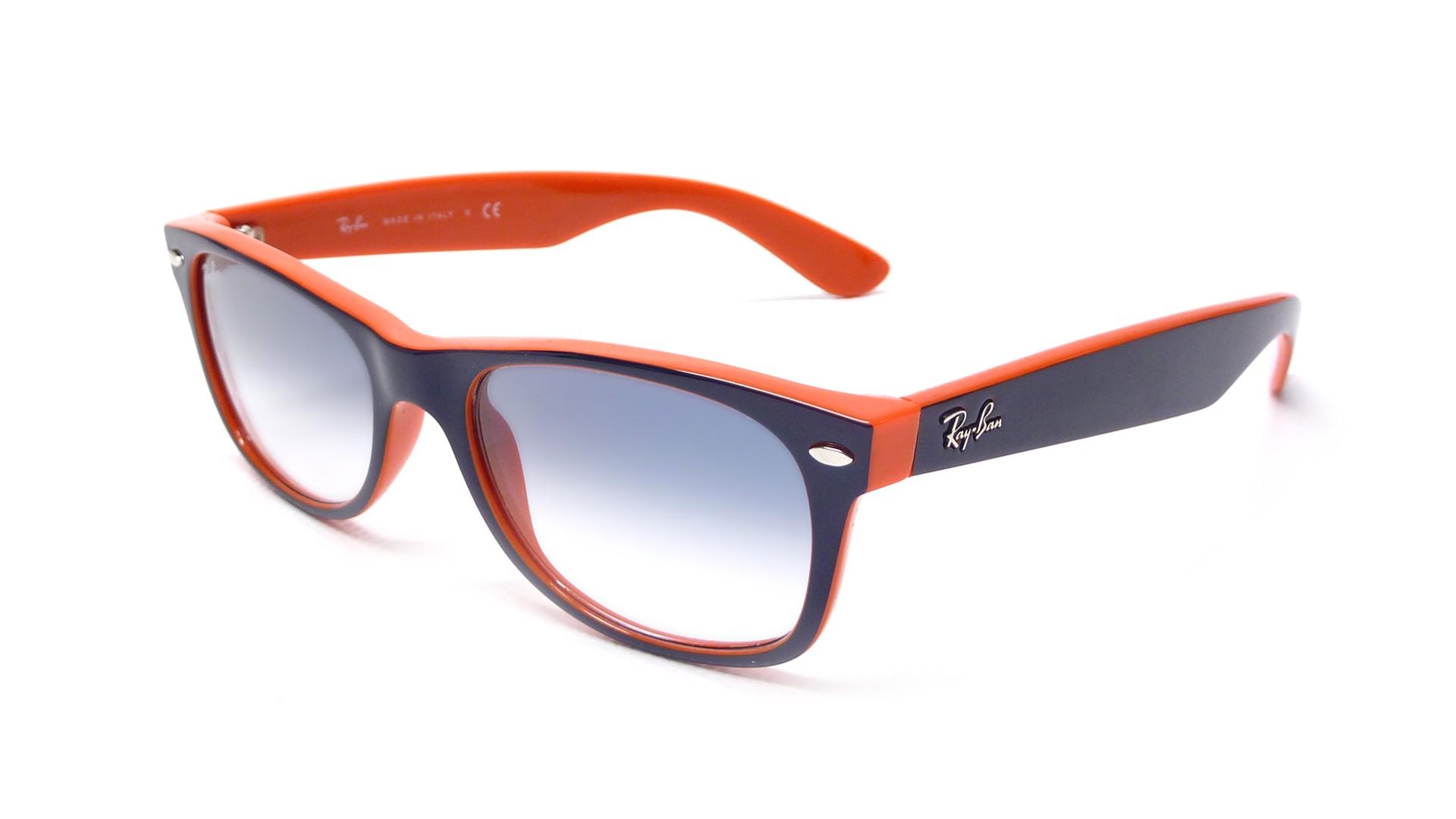 ray ban new wayfarer orange rb2132 789 3f 52 18 visiofactory. Black Bedroom Furniture Sets. Home Design Ideas