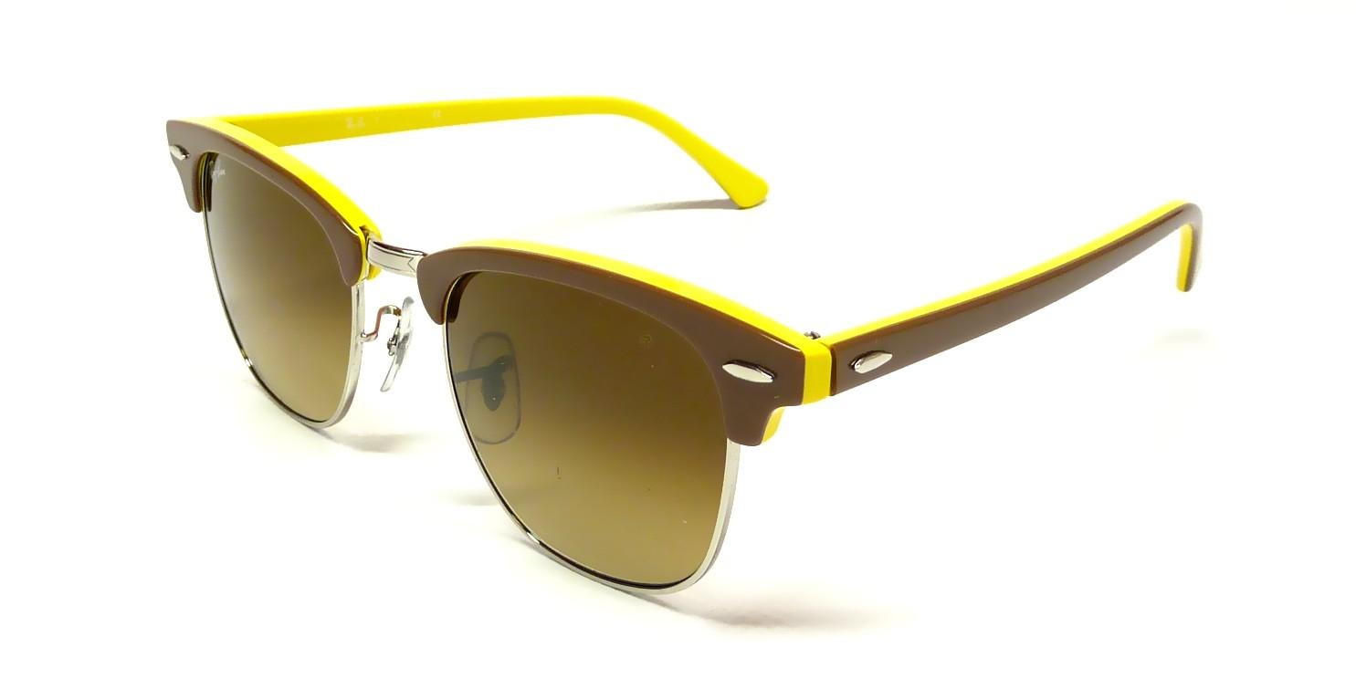 ray ban clubmaster jaune