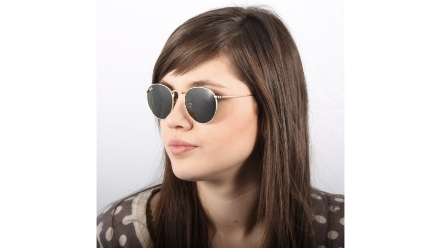 557c89c5639 Ray-ban Rb3447 Round Metal 9001a5