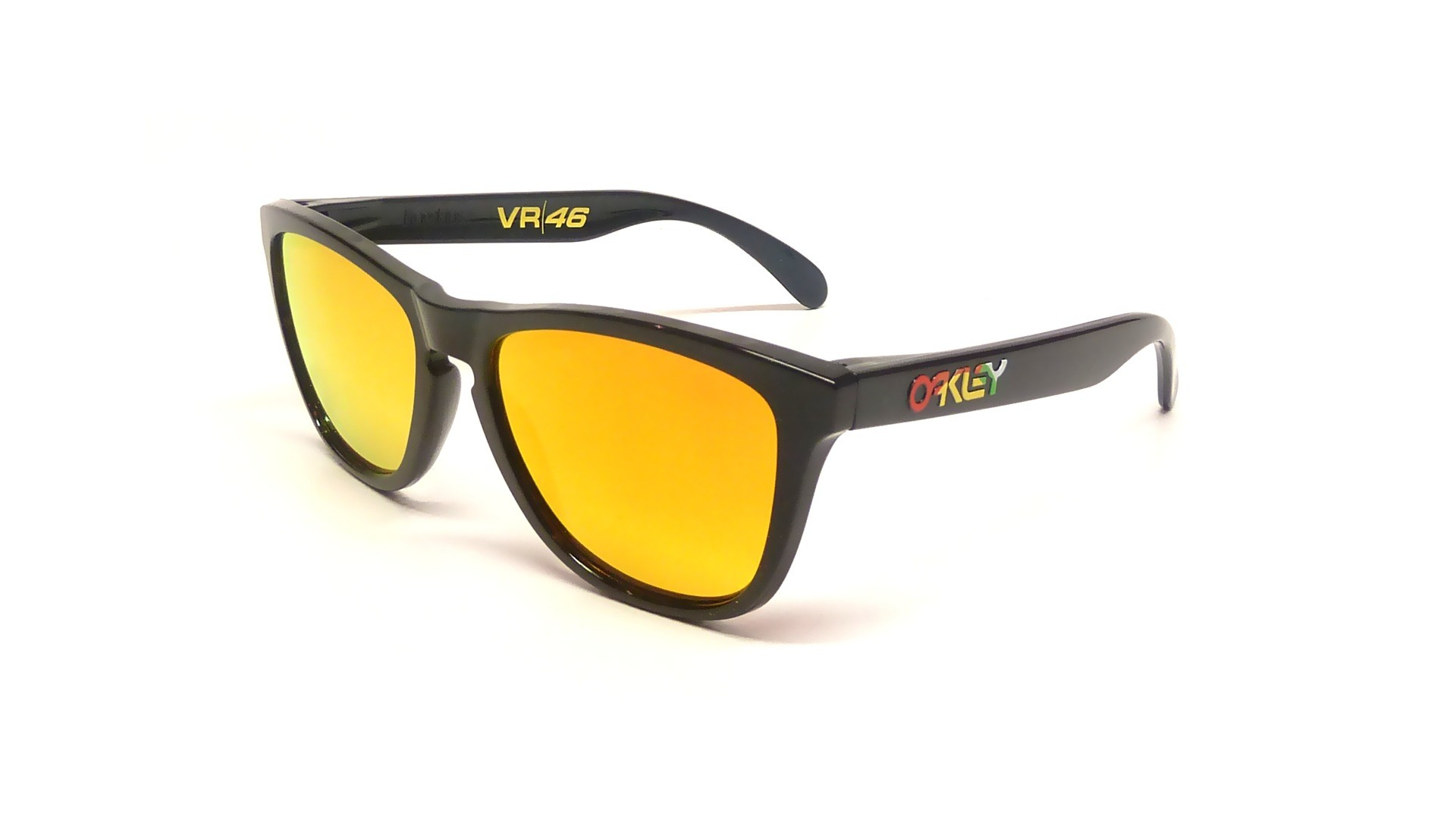 oakley mirror glass  oakley frogskins valentino rossi edition black oo9013 24 325 55 17