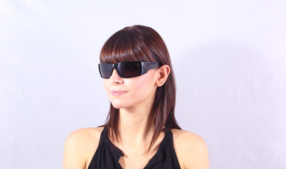 3b36ad45f9c ... sunglasses matte black polarized  oakley fuel cell black oo9096 01 60  19 visiofactory