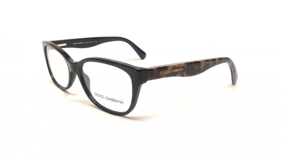 Dolce And Gabbana Thick Frame Glasses : Dolce & Gabbana Matte Silk DG 3136 2525 Noir Medium