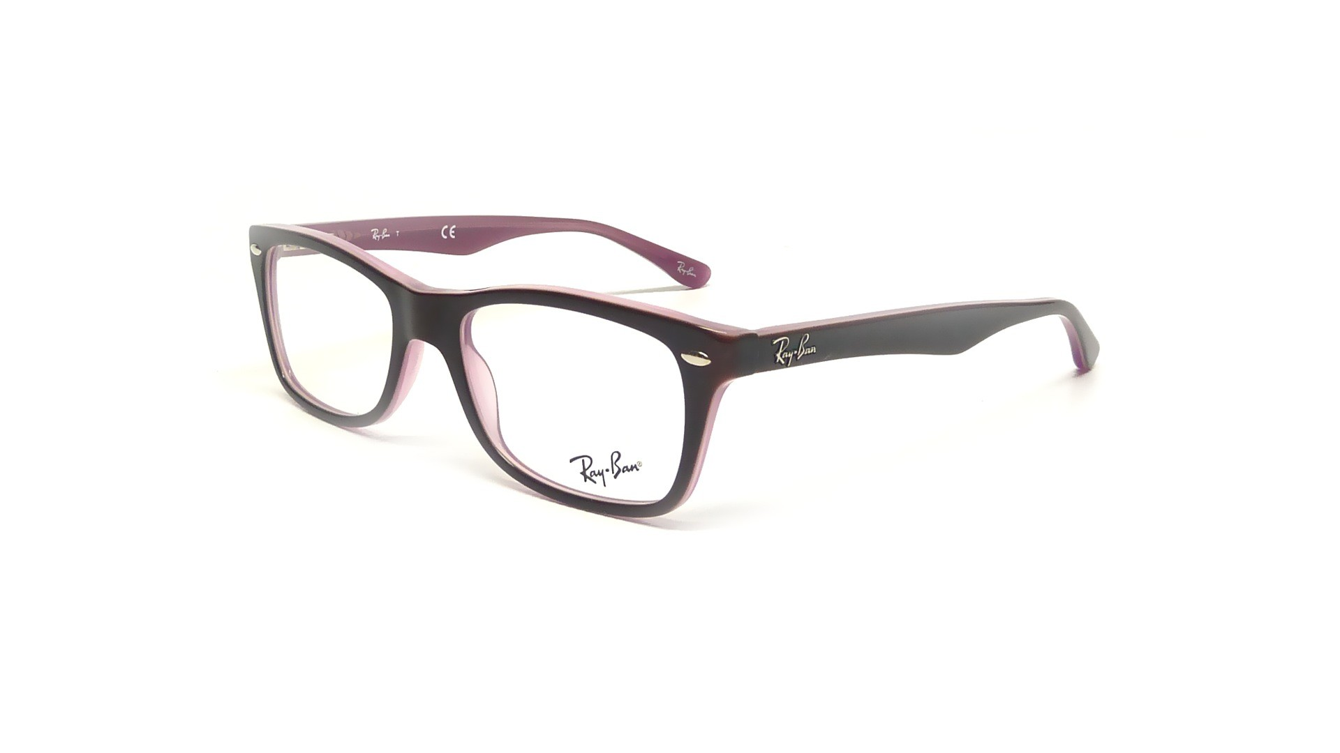 ray ban rx5228 rb5228 2126 50 17 purple visiofactory. Black Bedroom Furniture Sets. Home Design Ideas