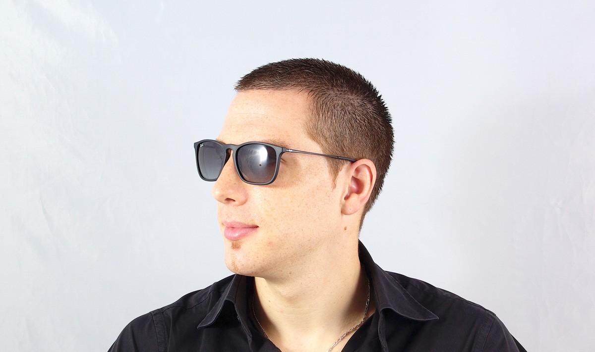 Sunglasses Ray-Ban Chris Black RB4187 622/8G 54-18 Medium Gradient
