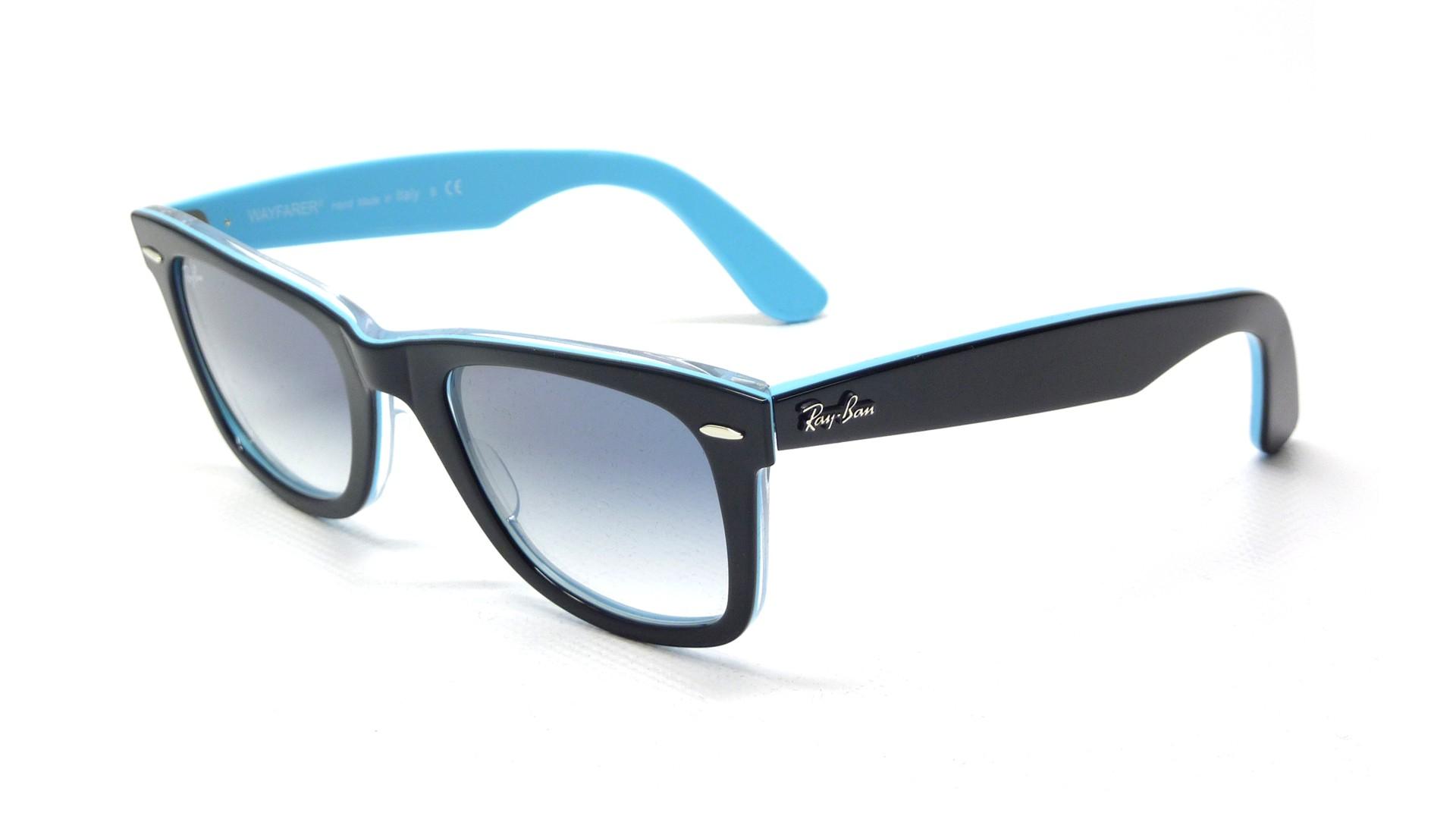Ray-ban Glasses Black Blue Black Bumper .