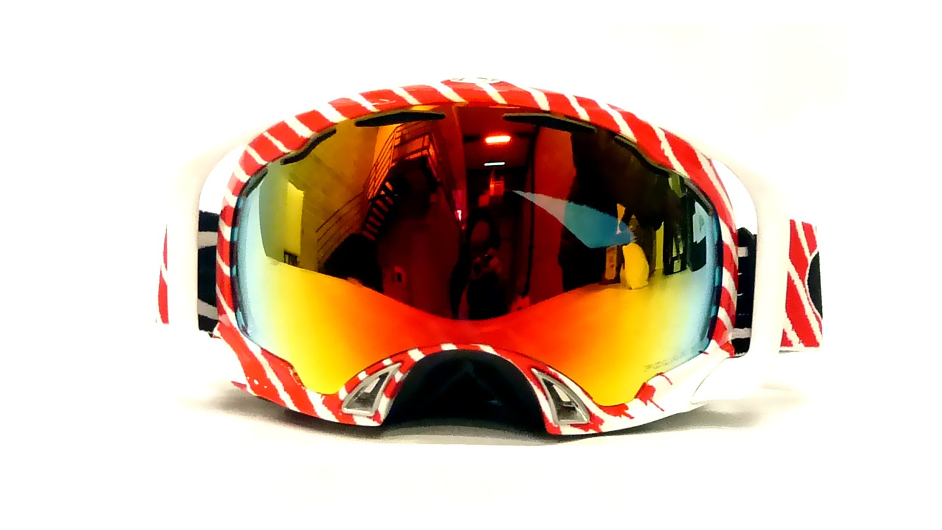 Oakley Goggles White Frame