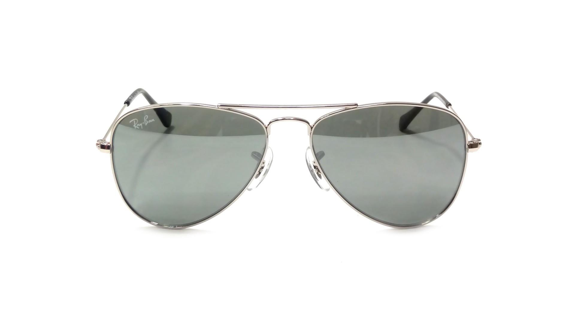 Ray ban aviator gris rj9506s 212 6g 50 13 prix 49 90 for Lunettes de soleil ray ban aviator miroir