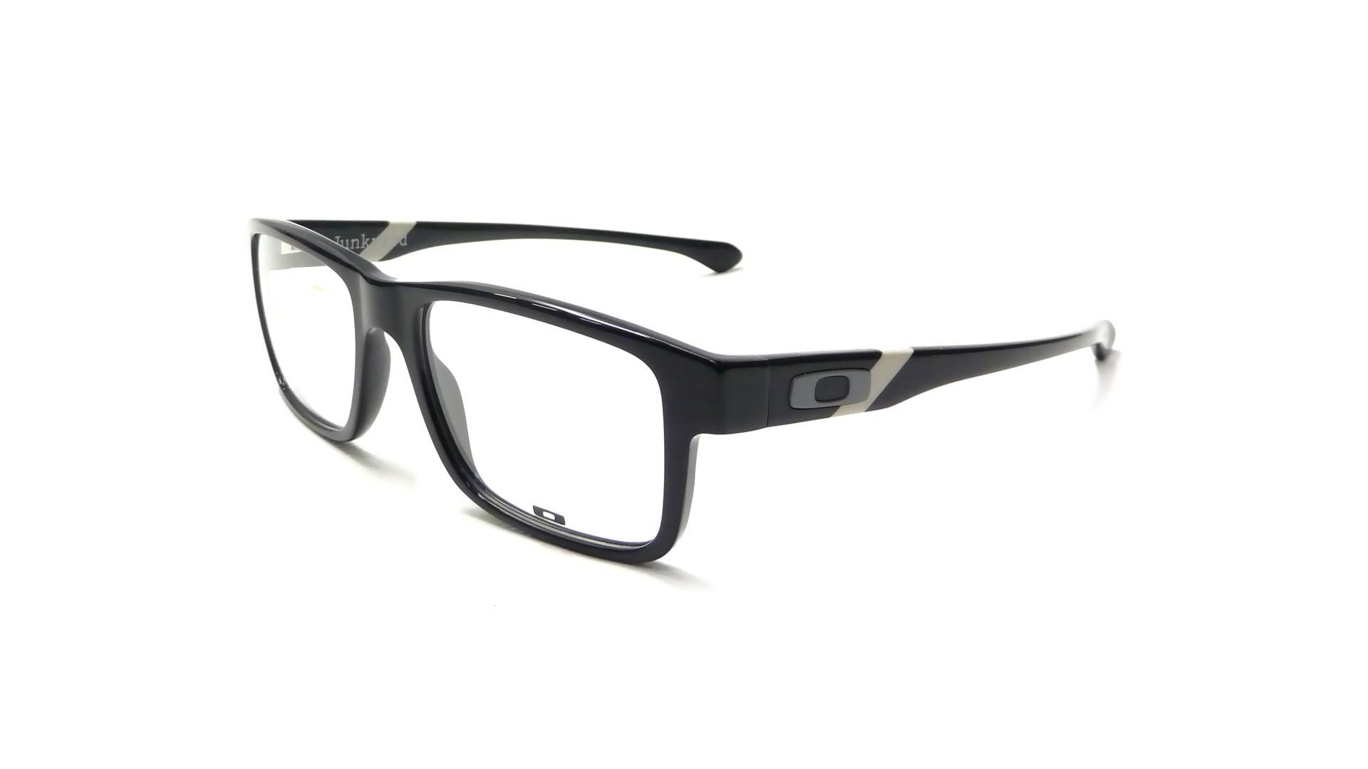 oakley eyeglasses ej3y  Oakley Junkyard Black OX1074 06 53-18  Visiofactory