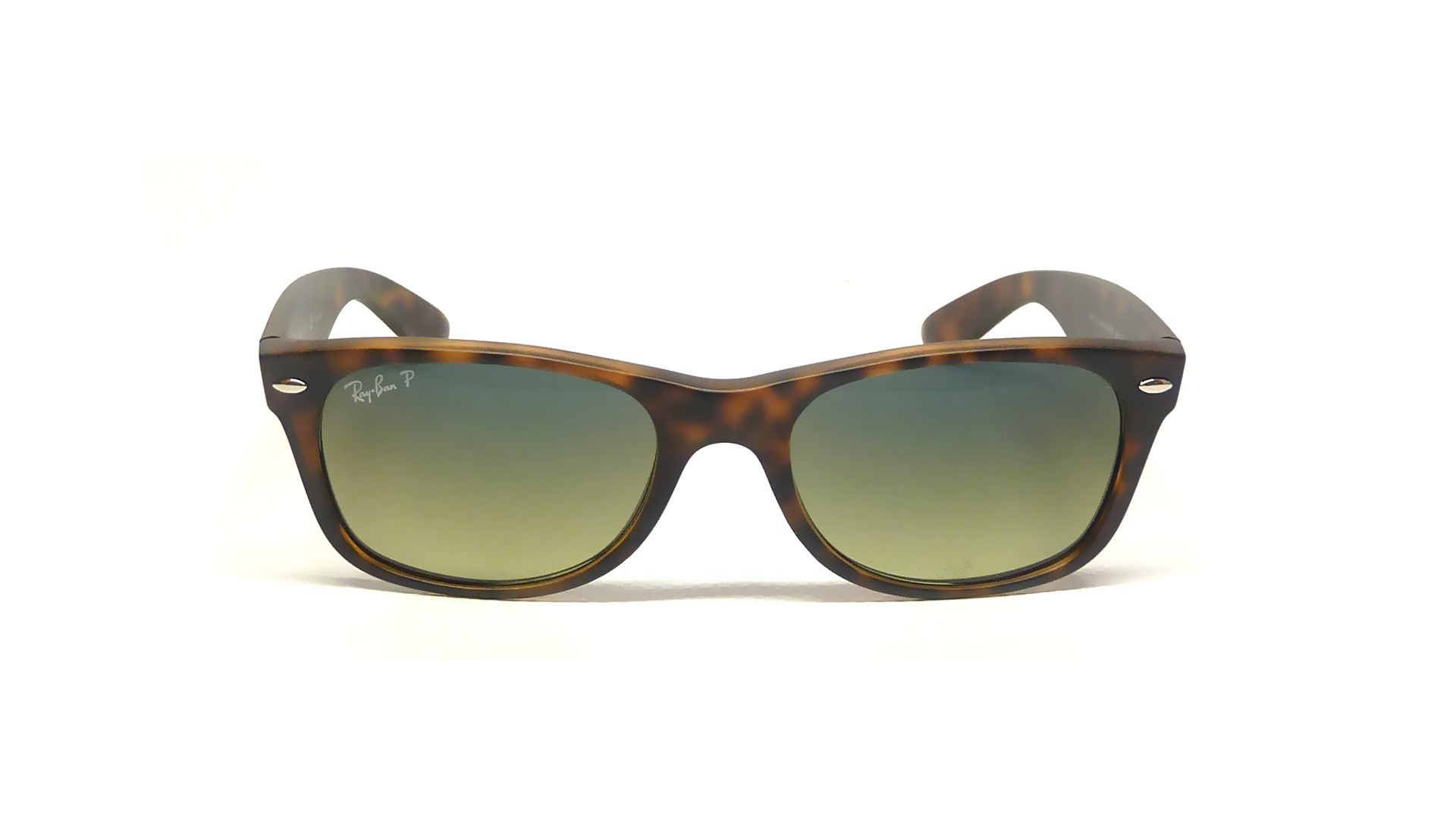 Ray-Ban New Wayfarer Tortoise RB2132 894/76 55-18 Polarized | Visiofactory