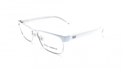 Dolce And Gabbana White Frame Glasses : Lunettes de vue homme Prix reduits - Visiofactory