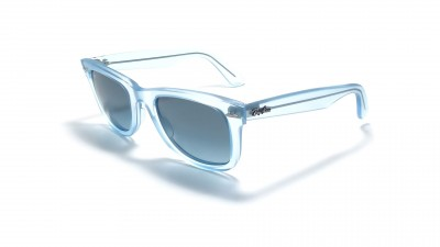 Ray-Ban Original Wayfarer Ice Pop Bleu RB2140 6055/4M 50 74,92 €