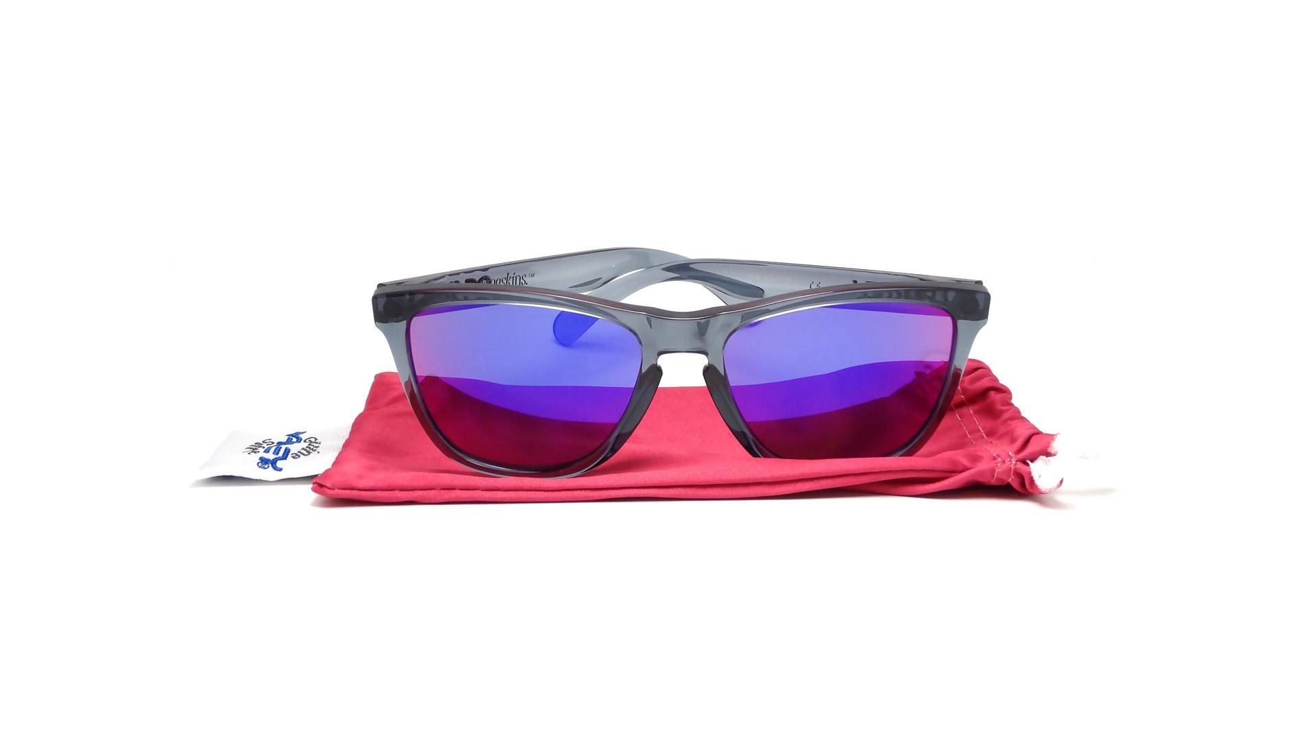 ca6f96d35aa Oakley Frogskin Crystal Black L Violet Iridium « Heritage Malta