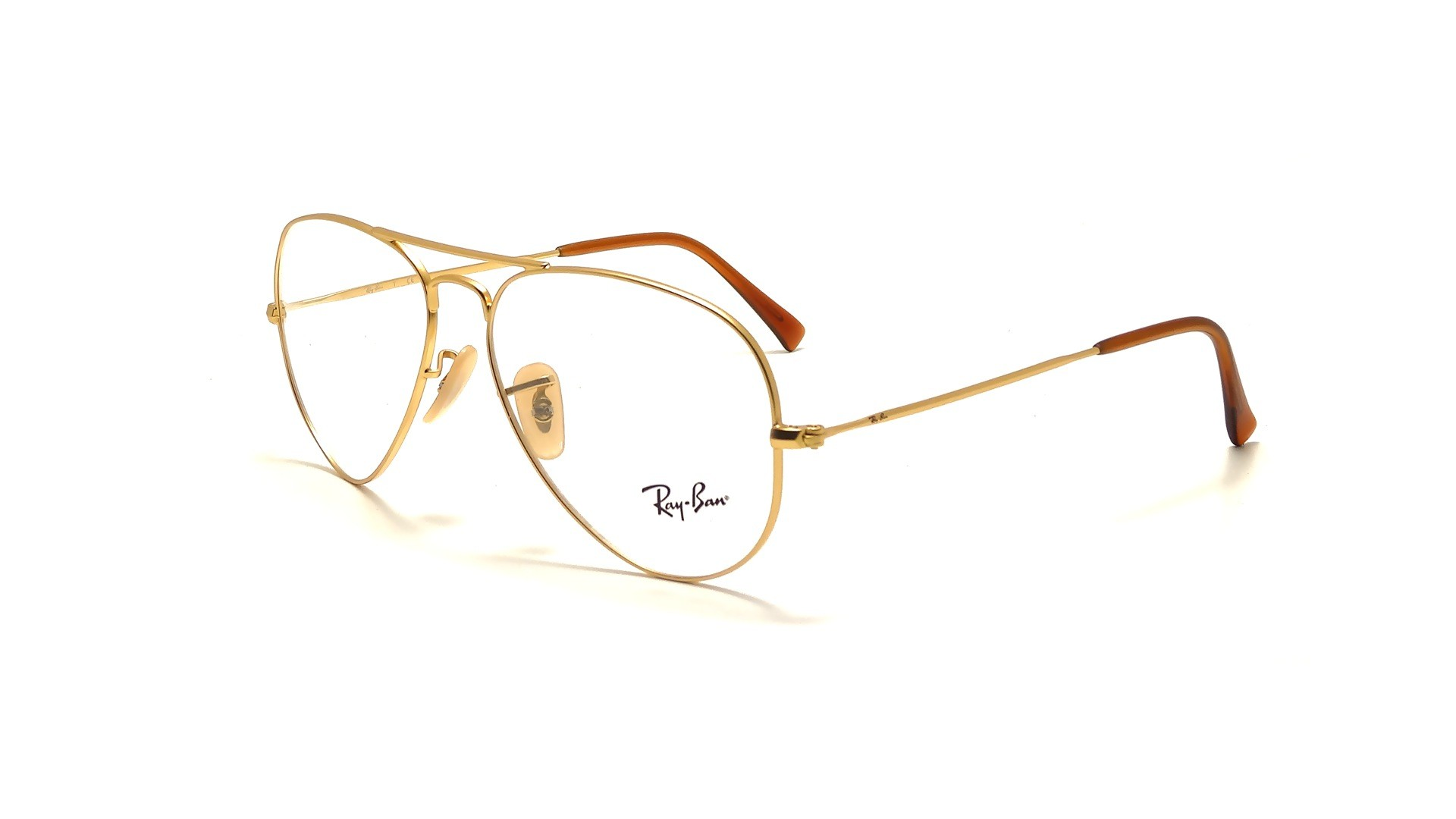 Ray Ban Glasses Large Frame : Eye glasses Ray Ban RX RB 6049 Aviator Large Metal 2730 ...