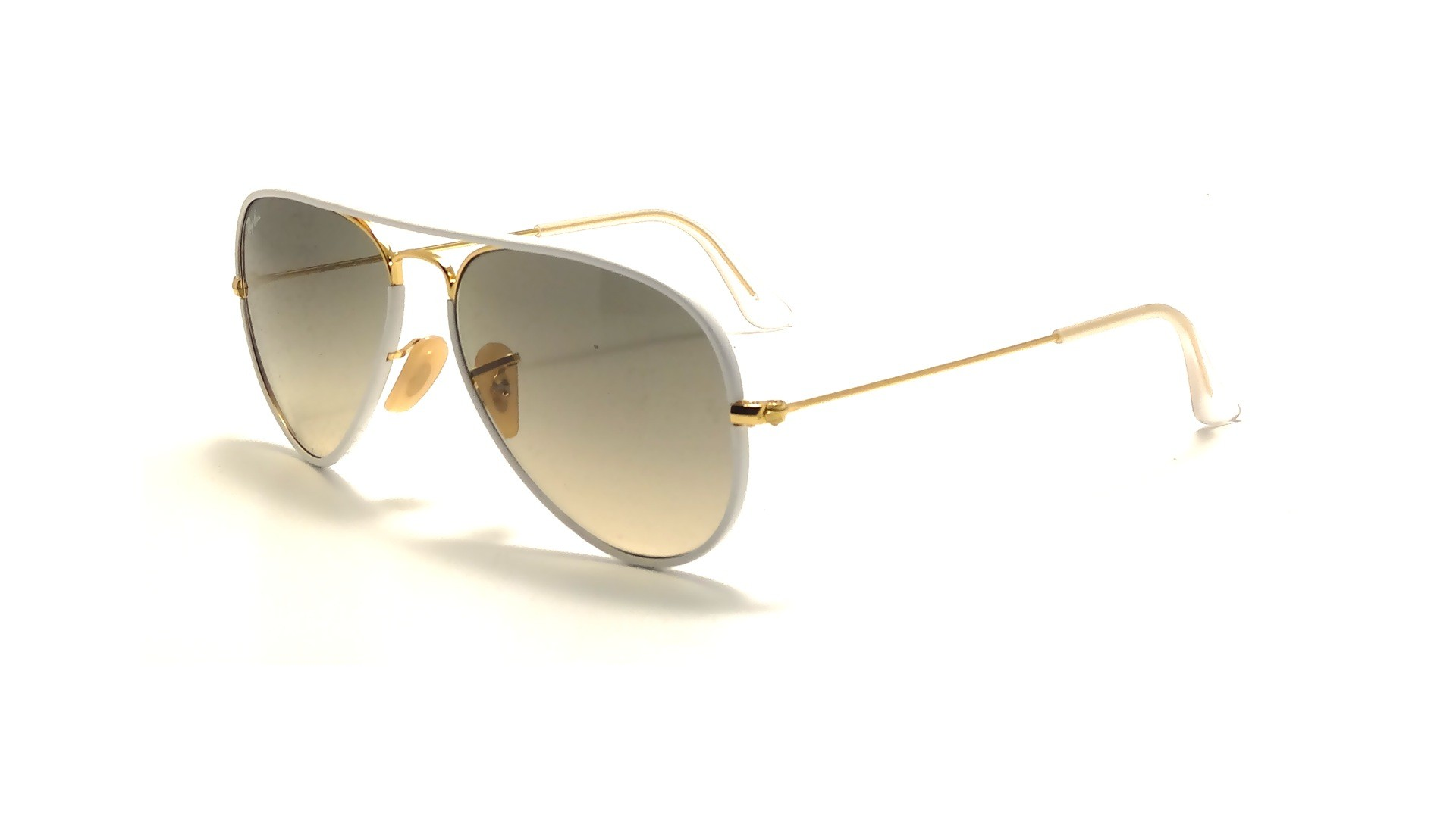 ray ban aviator full color white rb3025jm 146 32 55 14 visiofactory