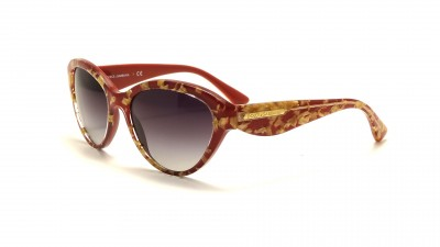 Dolce & Gabbana Gold Leaf Red DG4199 2748/8G 55-18 75,00 €