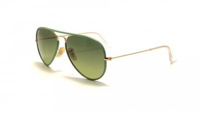 c955e6d8837 Ray-Ban Aviator Full Color Green RB3025JM 001 3M 58-14 99