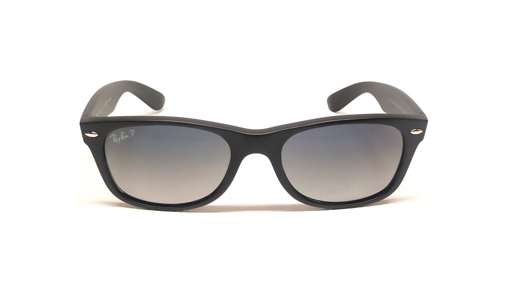 black ray ban wayfarer  Ban New Wayfarer Black RB2132 601S/78 55-18 Polarized