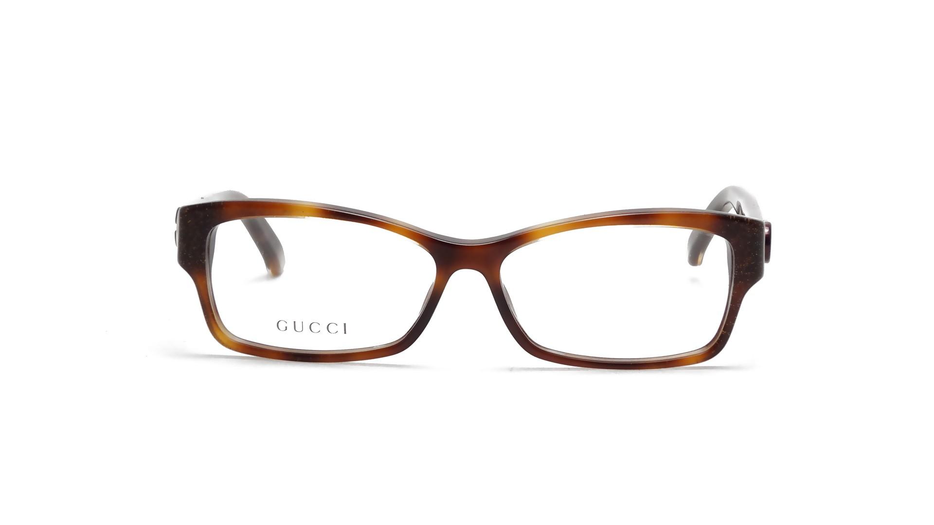 Gucci Tortoise Eyeglass Frames : Gucci GG3203 PWT 53-13 Tortoise Visiofactory