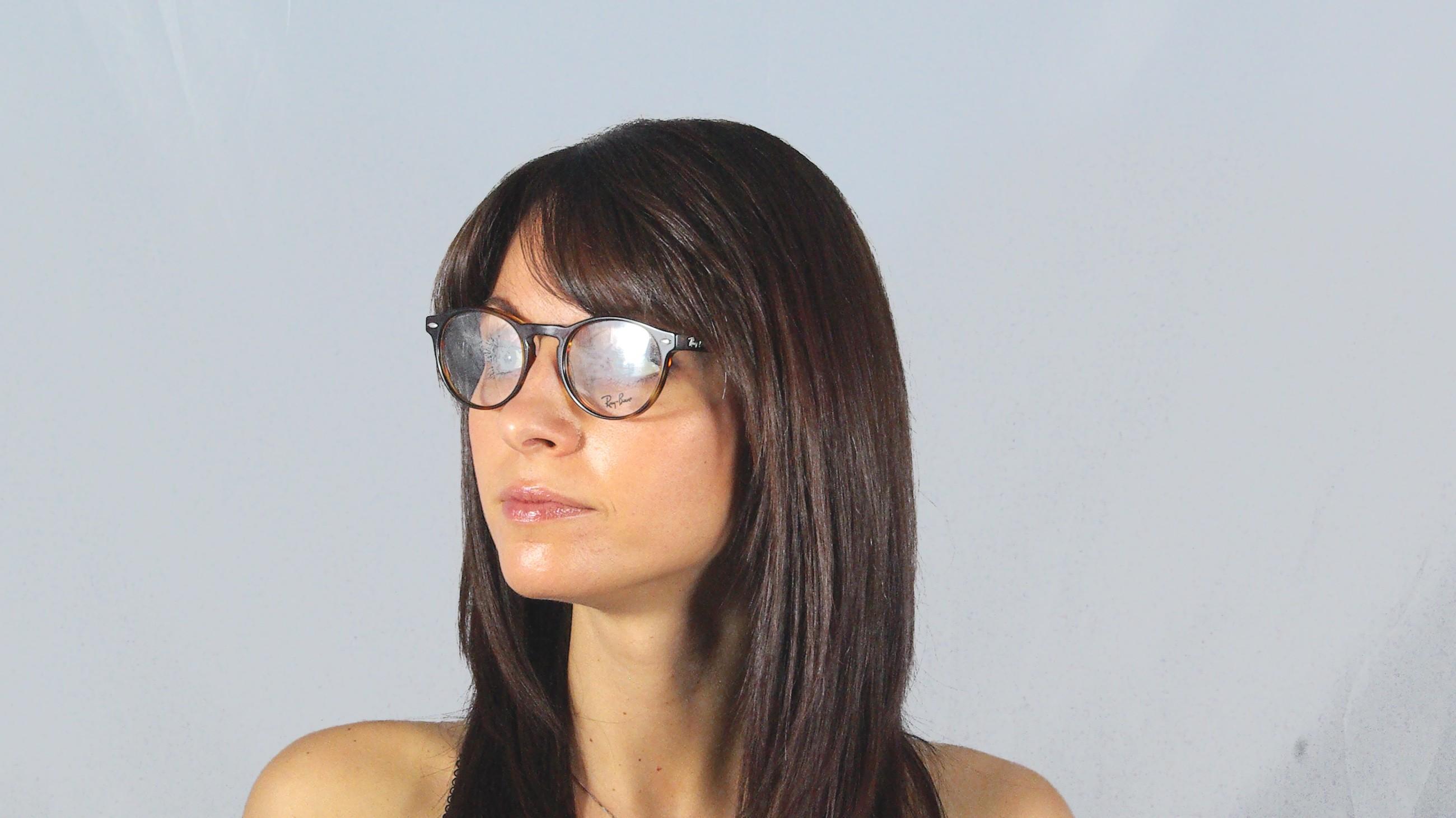 Eye Glasses Ray Ban Rx Rb 5283 2144 Tortoise Visiofactory