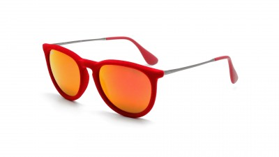 Ray-Ban Erika Velvet Edition Rouge RB4171 6076/6Q 54-18 79,08 €