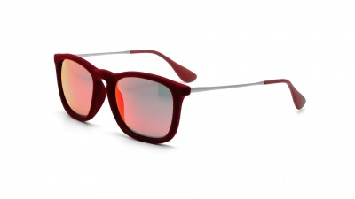 Ray-Ban Chris Velvet Edition Rouge RB4187 6078/6Q 54-18 79,08 €