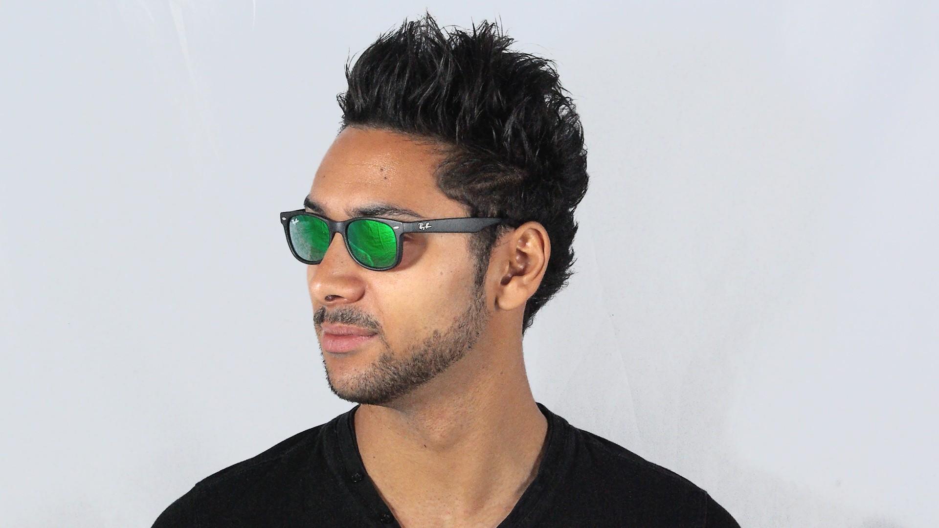 Овальные солнечные очки фото