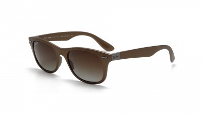 Ray-Ban New Wayfarer Liteforce Brown RB4207 6033/T5 52-17 Polarized 124,92 €