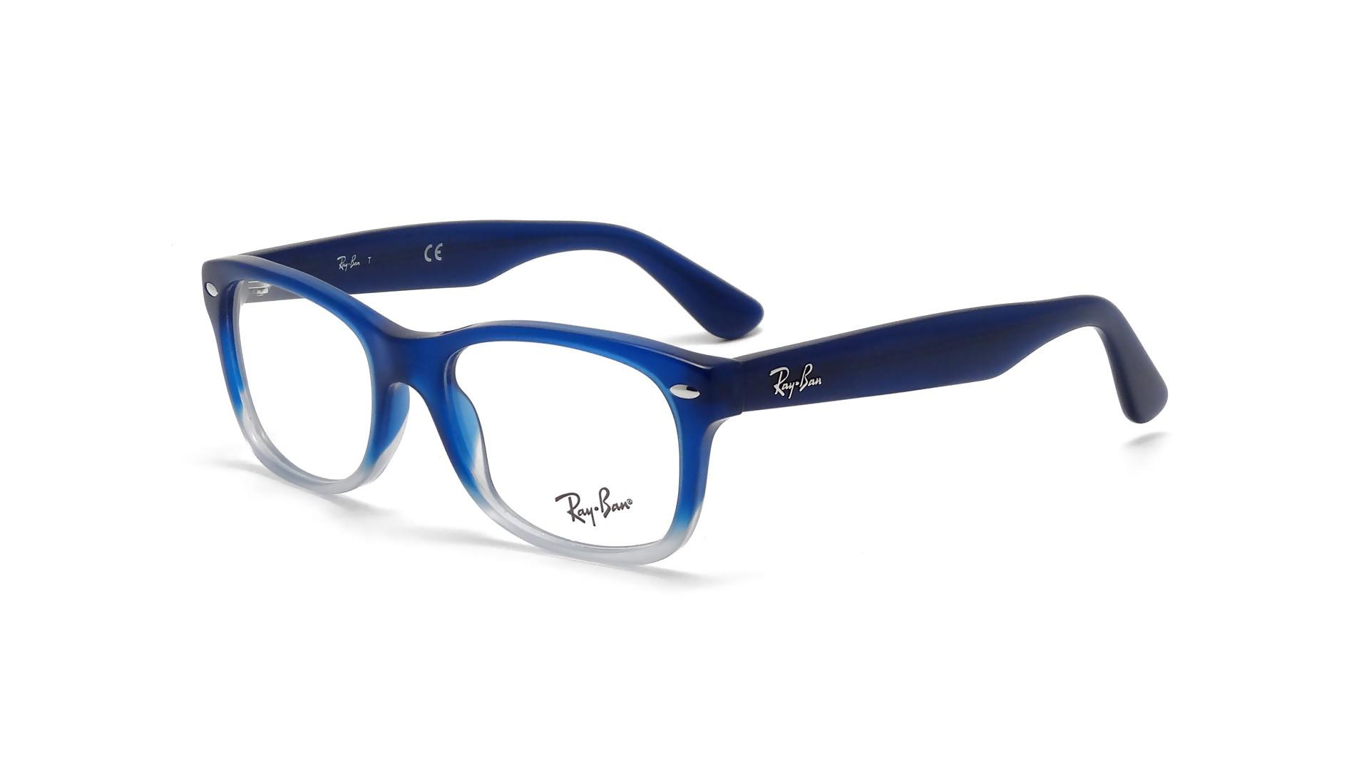lunette de vue ray ban bleu marine