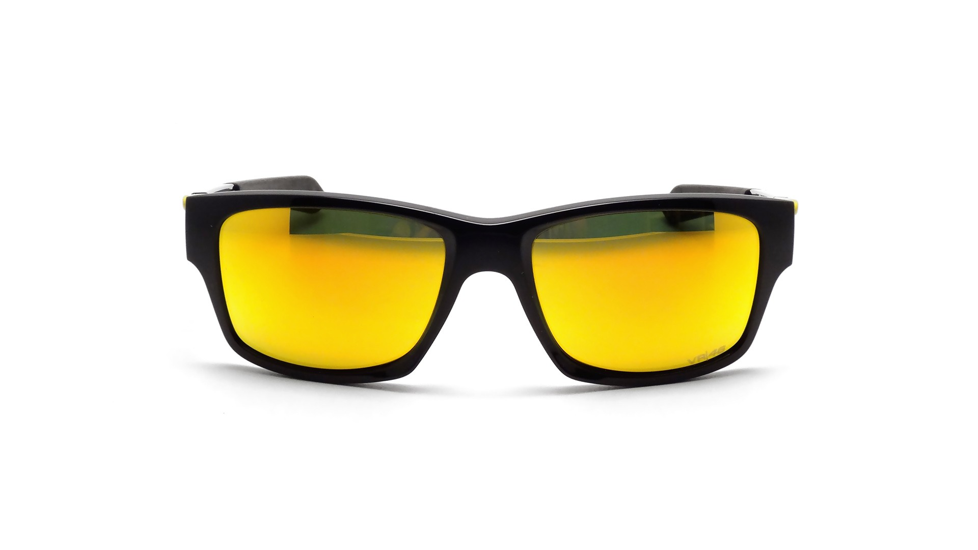 black and yellow oakley sunglasses 194m  Oakley Jupiter Valentino Rossi Edition Black OO9135 11  Visiofactory