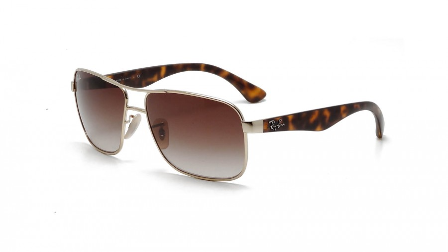 1893345aea Ray-Ban RB3516 001 13 62-15 Or. Lunettes de ...