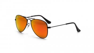 Lunettes de soleil Ray-Ban Aviator Metal Noir RJ9506S 201/6Q 50-13 48,33 €