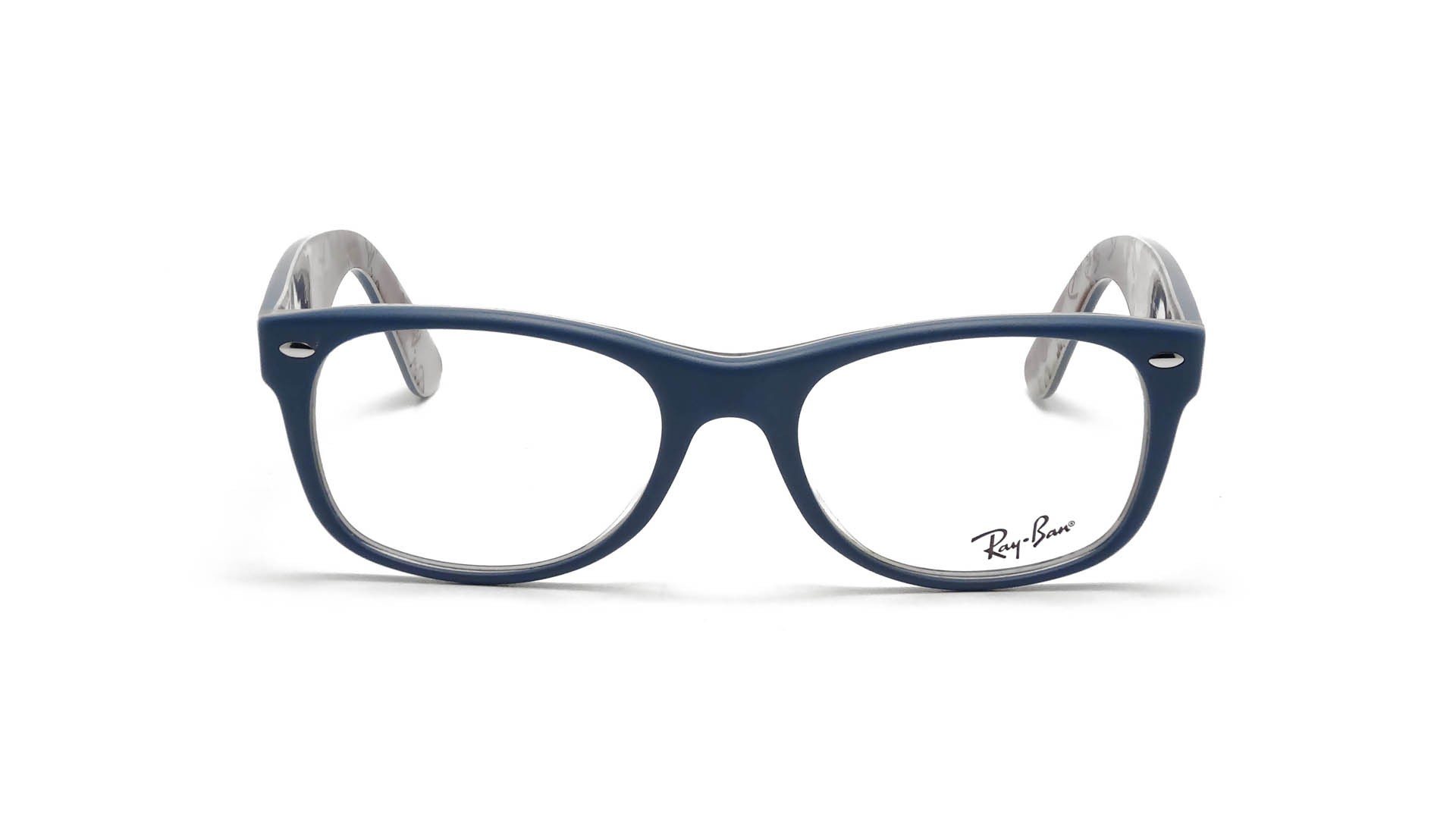 Ray-Ban New Wayfarer Blue RX5184 RB5184 5407 52-18 | Visiofactory