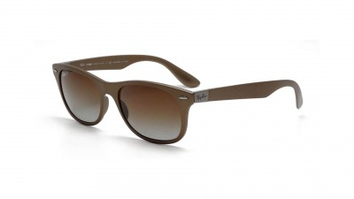 Ray-Ban New Wayfarer Liteforce Brown RB4207 6033/T5 55-17 Polarized 124,92 €