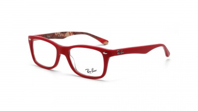 ray ban 5228 black and red