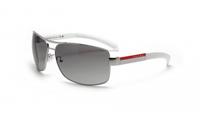 Prada Linea Rossa PS54IS 1BC3M1 65-14 Argent 131,58 €
