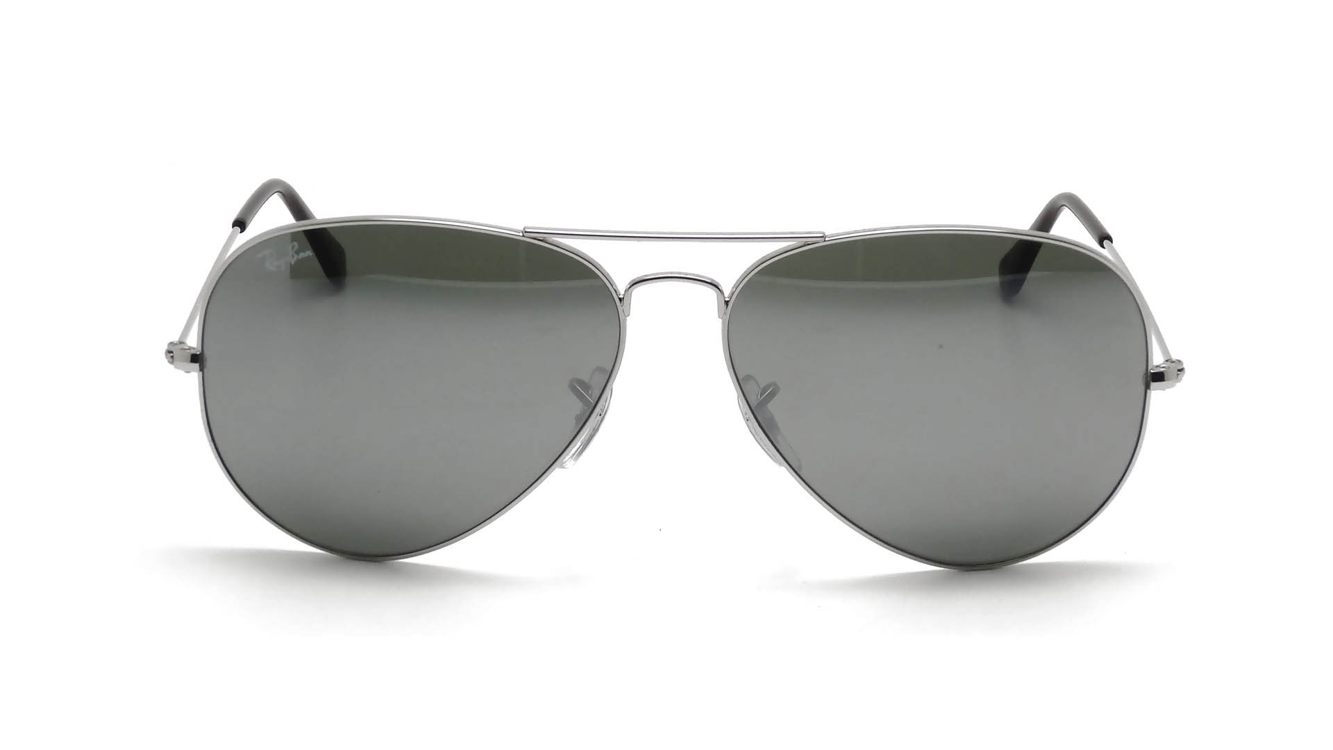 Ray ban aviator miroir argent louisiana bucket brigade for Miroir contour argent