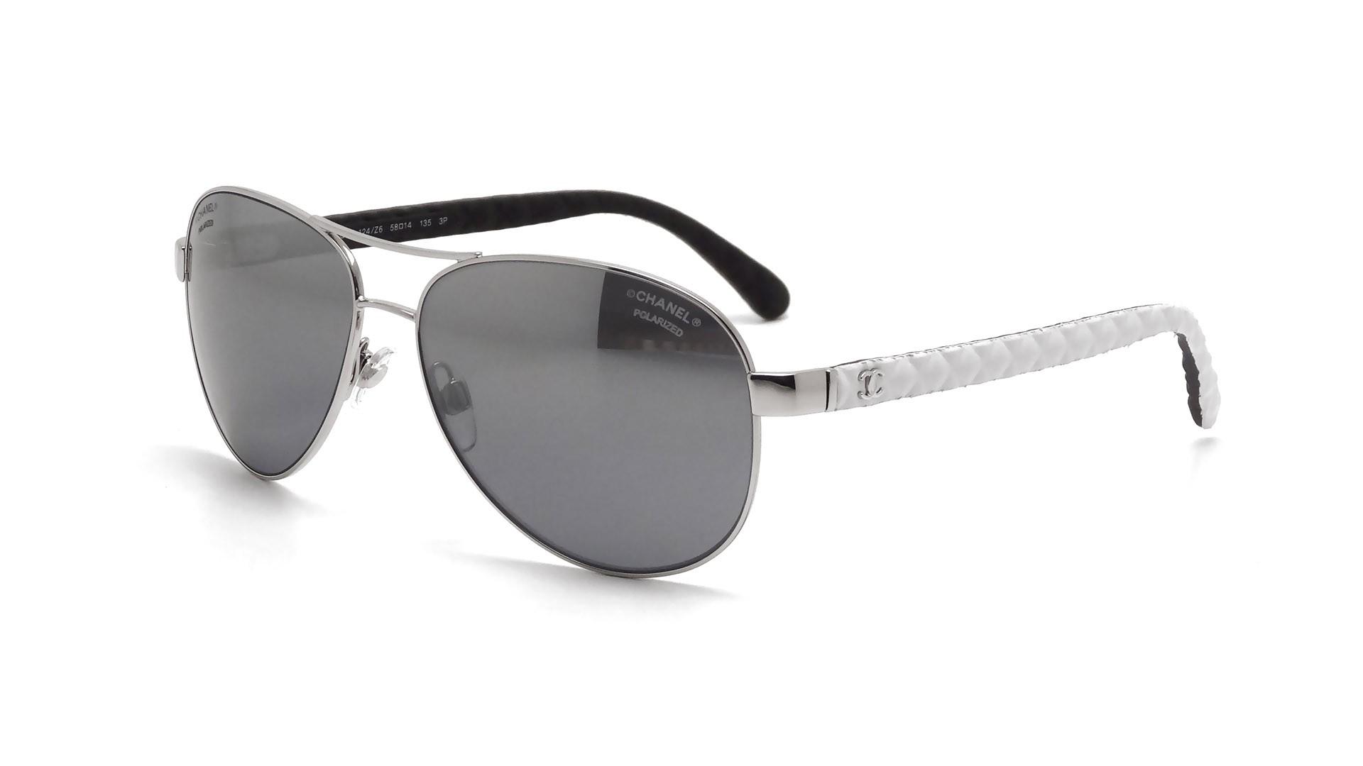 Chanel Ch4204q 124 Z6 58 14 Silver Polarized Visiofactory