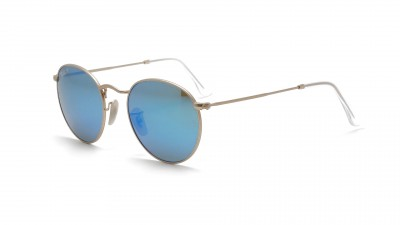 Ray-Ban Round Metal Or RB3447 112/4L 50-21 Polarisés 124,92 €