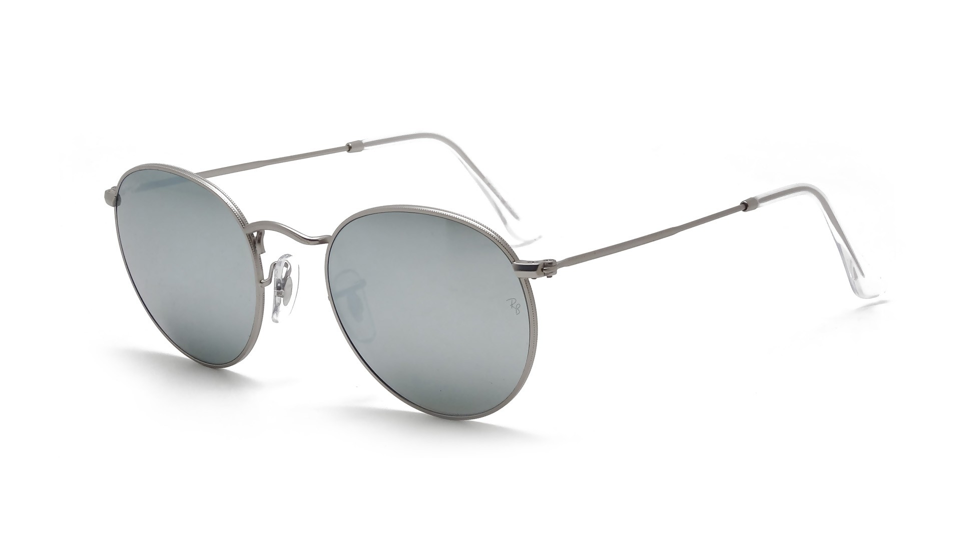 Ray Ban Sunglasses Silver Mirror  ban round metal silver rb3447 019 30 50 21 visiofactory