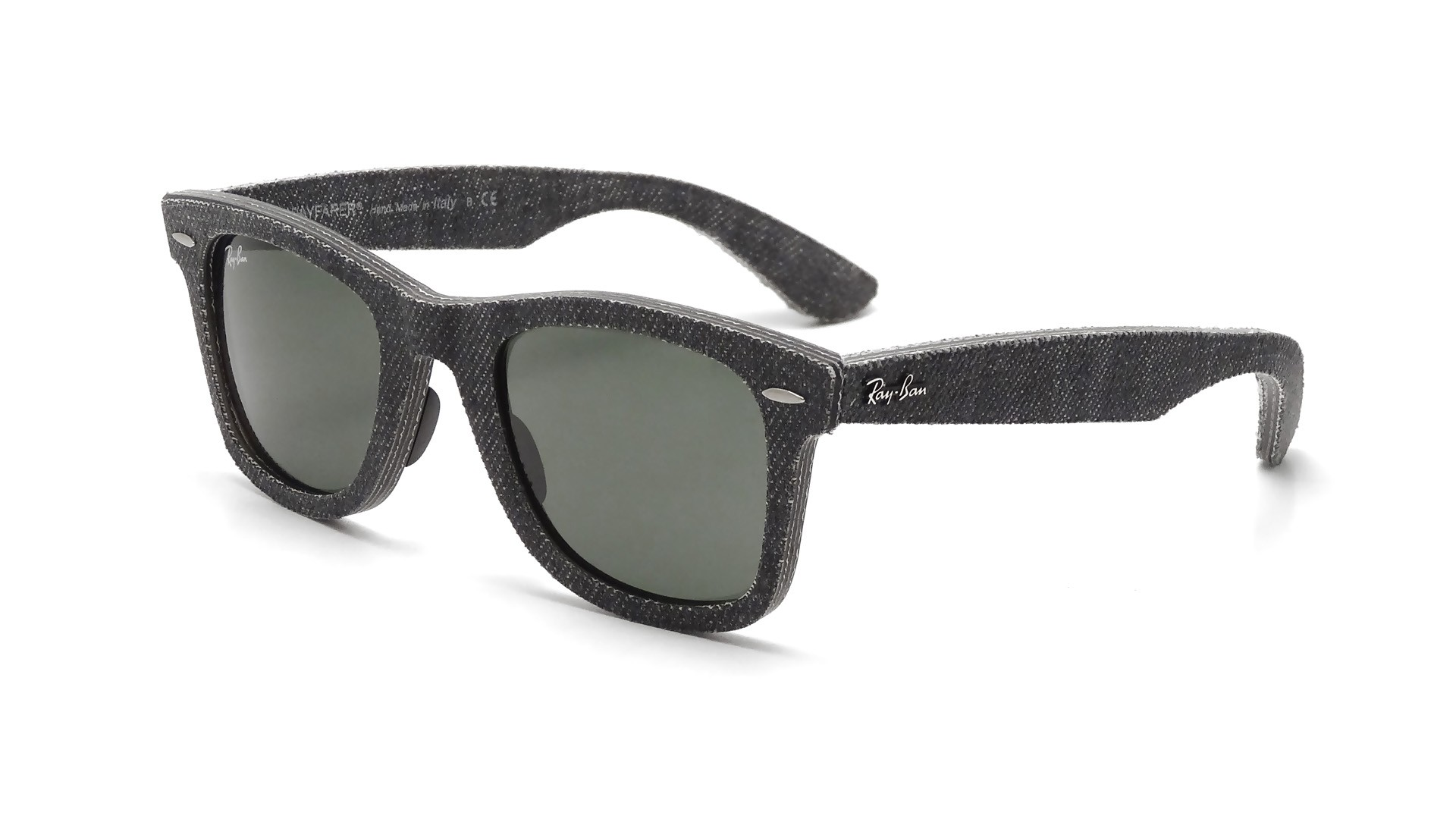 ray ban wayfarer original black  Ban Original Wayfarer Denim Black RB2140 1162 50-18
