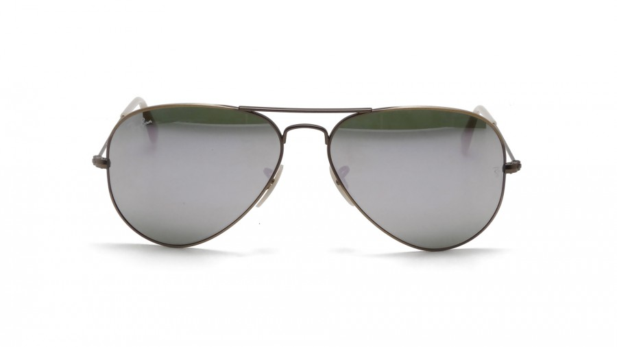 a7ec9fe790 Ray Ban Rb3025 Aviator Flash Metal Sunglasses « Heritage Malta