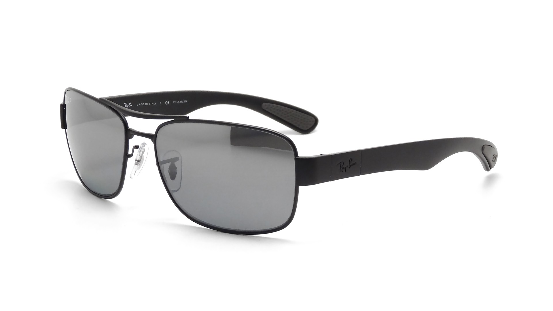 Ray-Ban RB3522 006/82 61-17 Black Polarized | Visiofactory