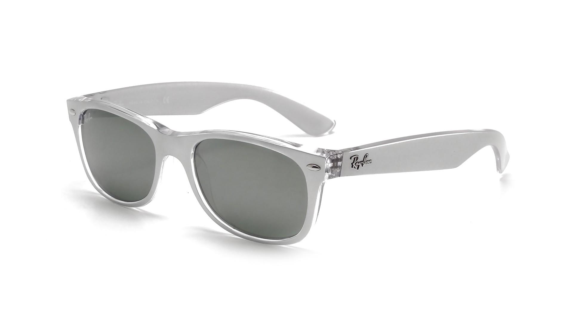 wayfarer metal frame  Ban New Wayfarer Metal Effect Silver RB2132 6144/40 52-18 ...