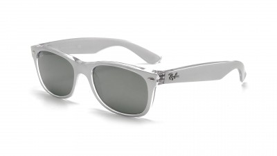 Ray-Ban New Wayfarer Metal Effect Argent RB2132 6144/40 55-18 99,92 €
