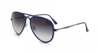 Ray-Ban Aviator Light Ray Bleu Mat RB4211 895/8G 56-17 121,67 €