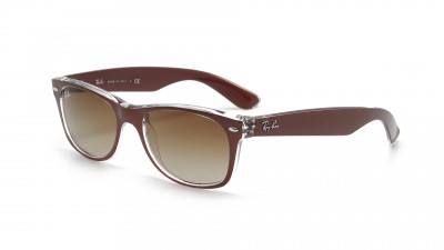 Ray-Ban New Wayfarer Metal Effect Brown RB2132 6145/85 55-18 77,42 €