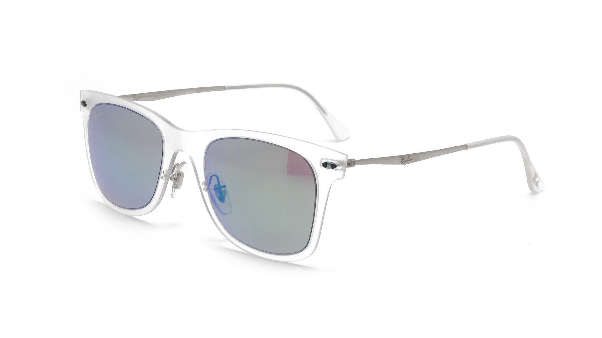 9007a27b19b Ray-ban Wayfarer Ii Sunglasses Clear   Black
