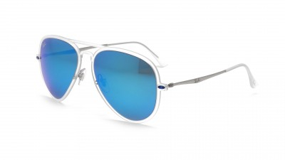 Ray-Ban Aviator Light Ray Transparent Mat RB4211 646/55 56-17 124,92 €