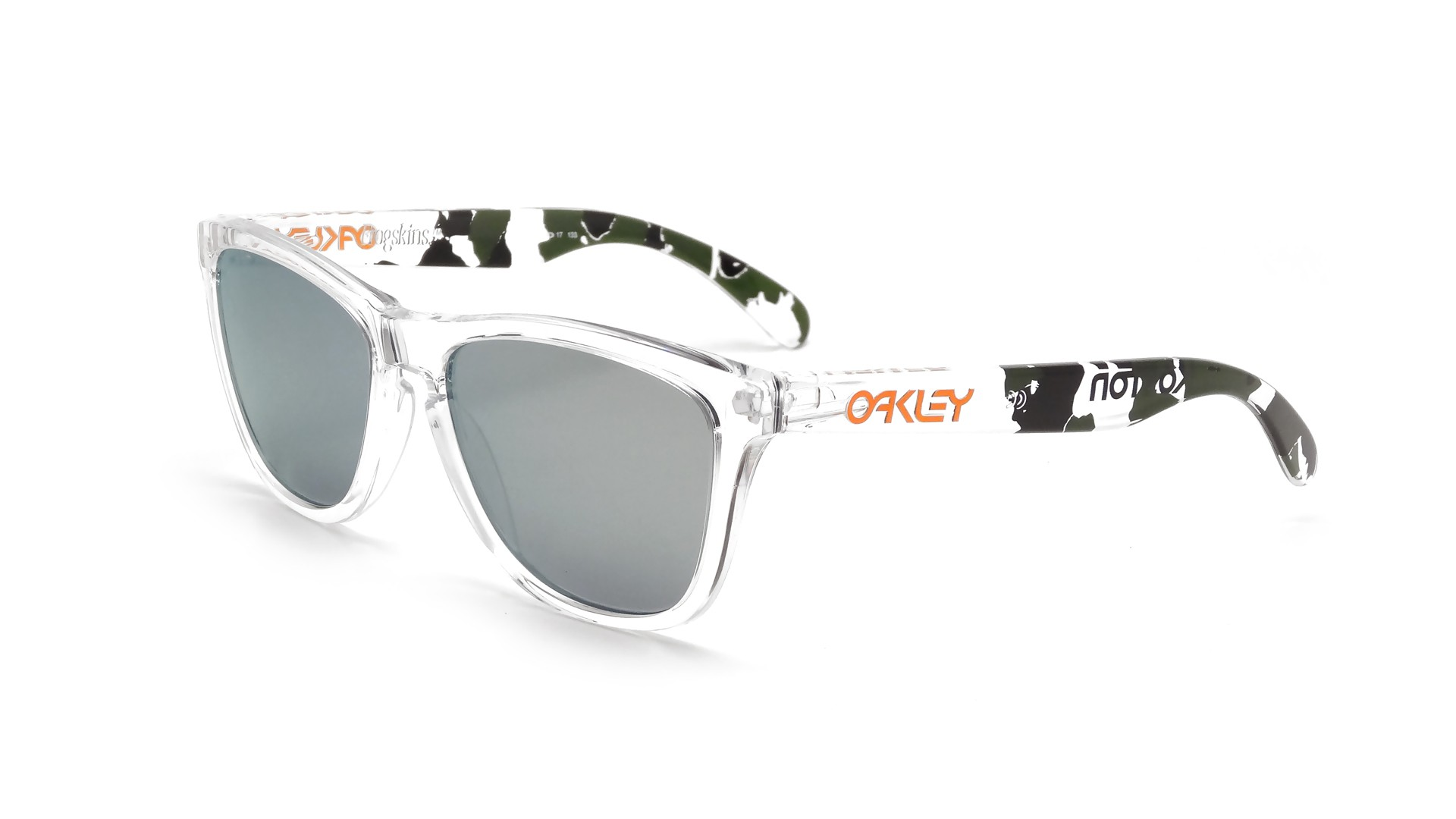 oakley sunglasses styles 1ra5  Oakley Frogskins Clear OO9013 24-436 55-17  Visiofactory