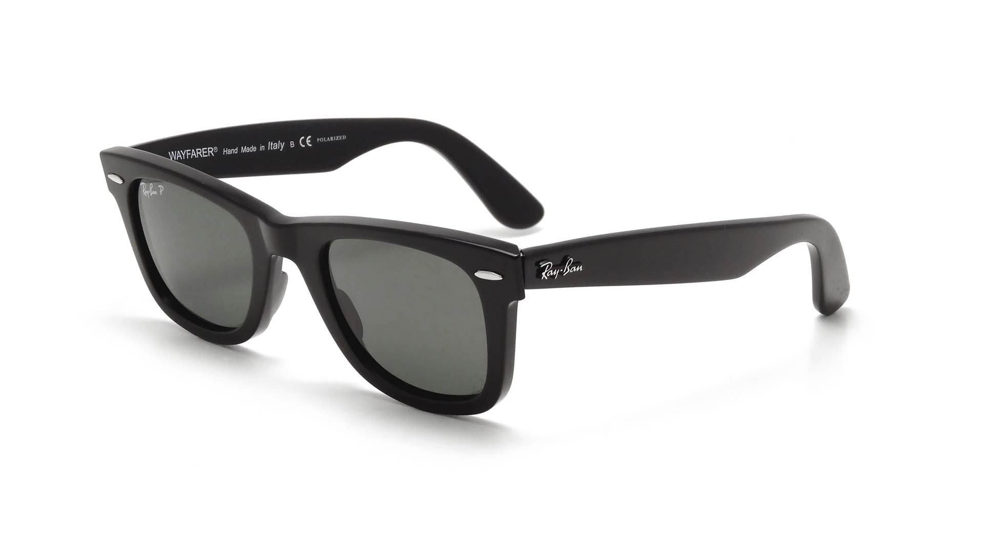 ray ban original wayfarer polarized cpwt  Ray-Ban Original Wayfarer Black RB2140 901/58 54-18 Polarized  Visiofactory